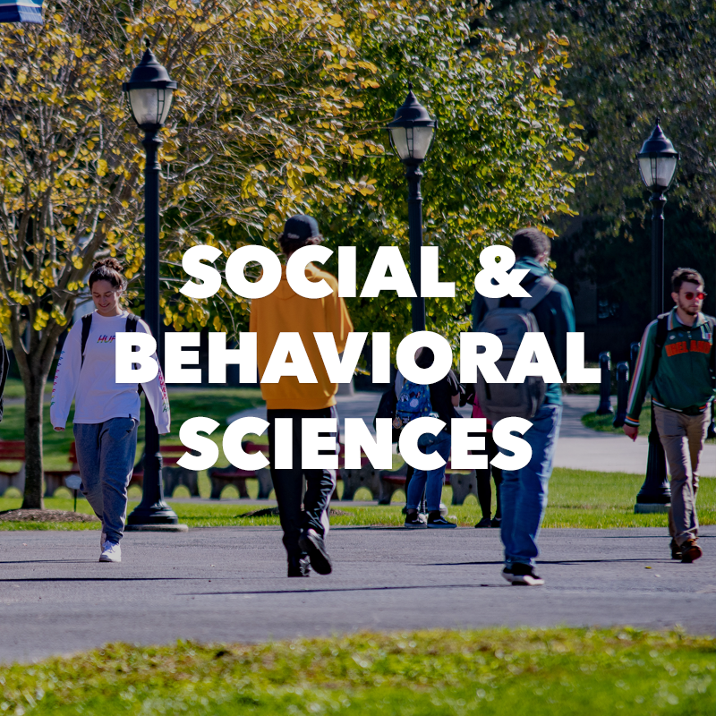 Social & Behavioral Sciences