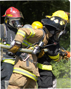Image of firefighters