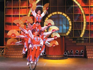 Chinese Golden Dragon Acrobats