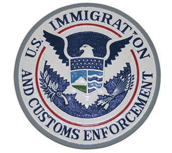 Immigration and Customs Service Shield