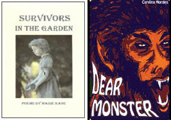 "Book Covers - ""Survivors in the Garden"" and ""Dear Monster"""