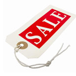 Image of sale tag