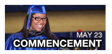 Commencement is May 23, 2013