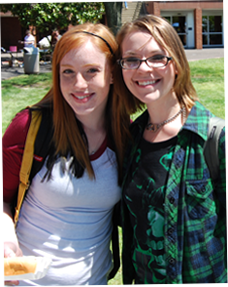 Image of 2 female students