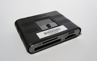 Image of media card reader