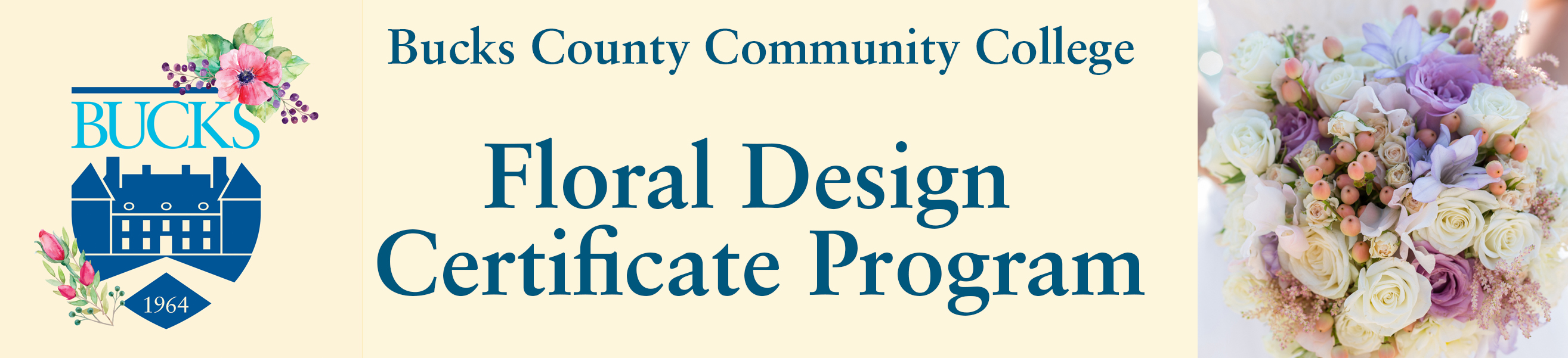 Floral Design Business Career Bucks County Community College