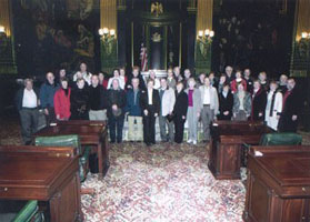 Image of members of the Social Behavioral Club