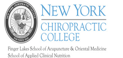 Logo for NY Chiropractic College