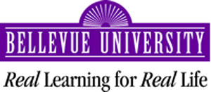 Logo for Bellevue University
